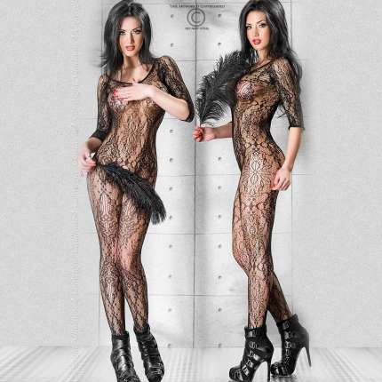 Catsuit Chilirose Effect Floral Chilirose 199019
