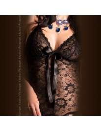 Shirt Evening Long Lace Floral Chilirose 160045