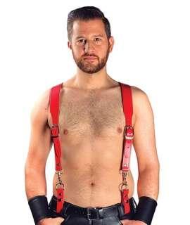Combi Harness Braces Basic Vermelho,601113