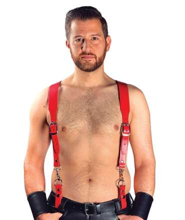 Combi Harness Braces Basic Red 601113