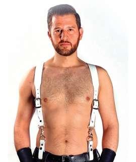 Combi Harness Braces Basic Branco,601115