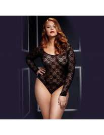 Body Lace Long Sleeve Baci Size Large 167003