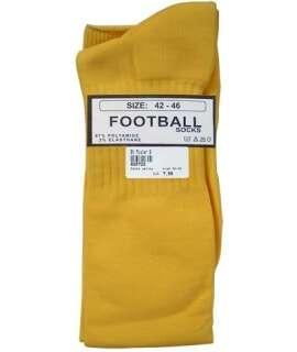 Meias de Futebol Altas Amarelo,820721