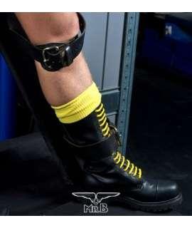 Los calcetines de Fútbol, Altas, de color Amarillo,820721