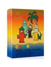 3 x Preservativos Amor COLOR,322014