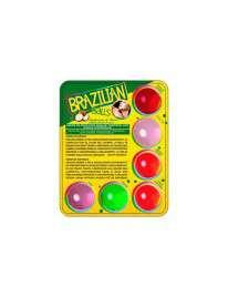 6 x Bolas Lubrificantes Beijáveis Brazilian Balls,312004