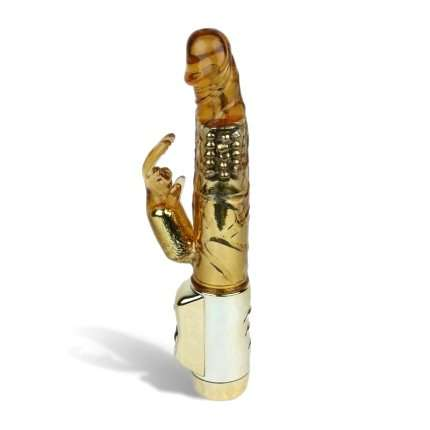Vibrator Rabbit US Gold Lover 23 cm 210026