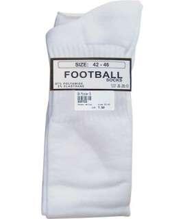 Meias de Futebol Altas Branco,820741