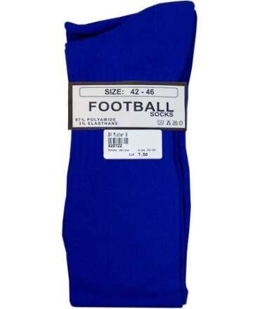 Meias de Futebol Altas Azul 820711 Mister B Meias