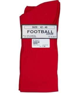 Meias de Futebol Altas Vermelho 820732 Mister B Meias