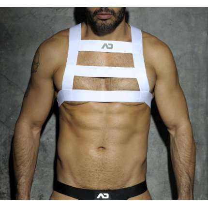 Harness Addicted White Party Branco,111017