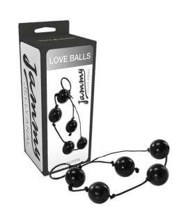 Bolas Anais Love Balls Jammy Jelly Anal Pretas,S4F06235