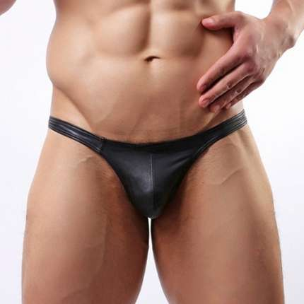 Underwear Simple Man Synthetic Leather 125032