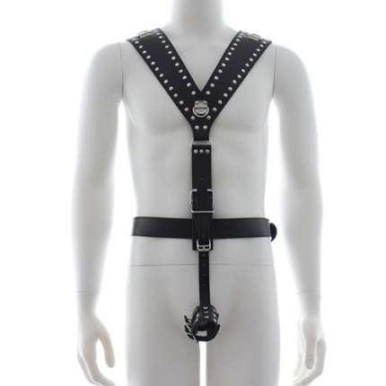 Harness com Cockring,111021
