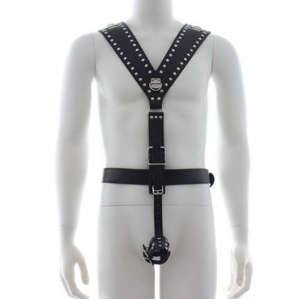 Harness with Cockring 111021