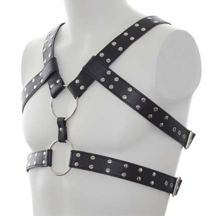 Harness Leather Belt Double 111023