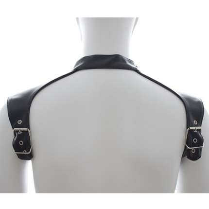 Harness Colar Couro Sintético, Harnesses, , welcomelover