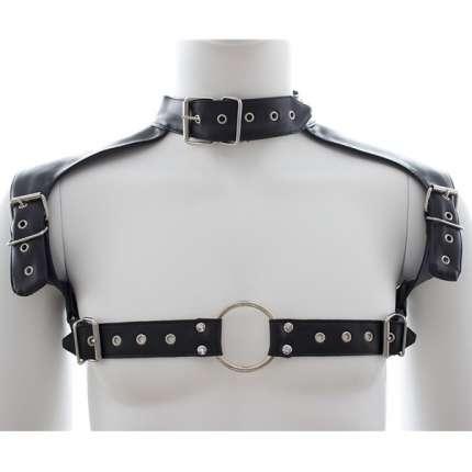 Harness Colar Couro Sintético,111024