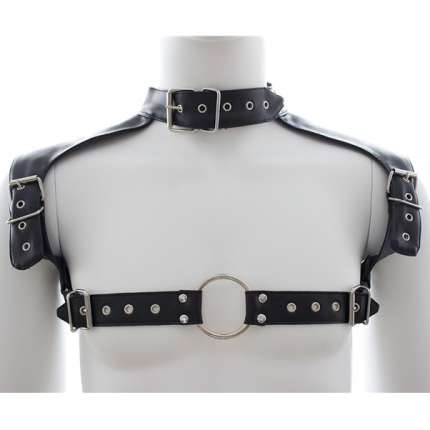 Harness Collar Leather Synthetic 111024