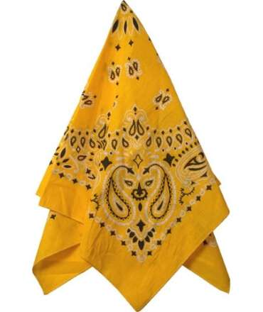 Scarf Yellow 413920
