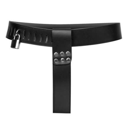 Chastity belt Female Leather Adjustable 144002