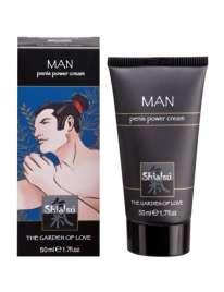 Creme Estimulante Masculino Shiatsu™ Penis Power Cream 50 ml,352056