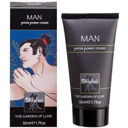 Creme Estimulante Masculino Shiatsu™ Penis Power Cream 50 ml, Estimulantes Masculinos, Shiatsu , welcomelover