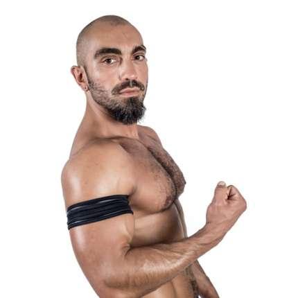 Banda Neopreno Mister B Biceps Preto SM,132008