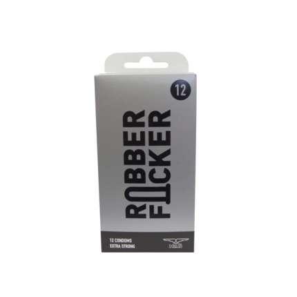 12 x Preservativos RubberFucker,320011