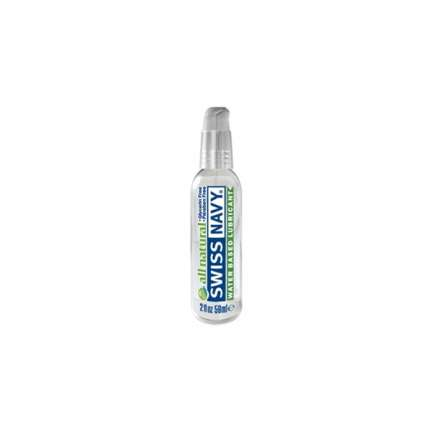 Lubricant Water Swiss Navy All Natural 59 ml 316022