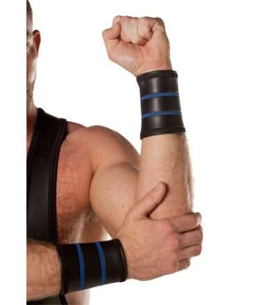 Neoprene Gauntlet Black and Blue 347010