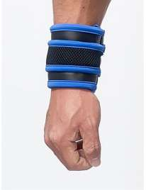 Wrist wallet, Mister B Neoprene Black and Blue 132011