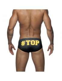 Pantalón De Adictos En El Top Elegante De Color Amarillo,500137