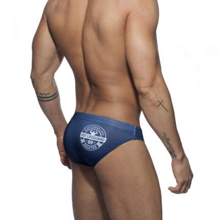 Sunga Addicted Lifeguard Brief Azul Marinho, Sungas, Addicted , welcomelover