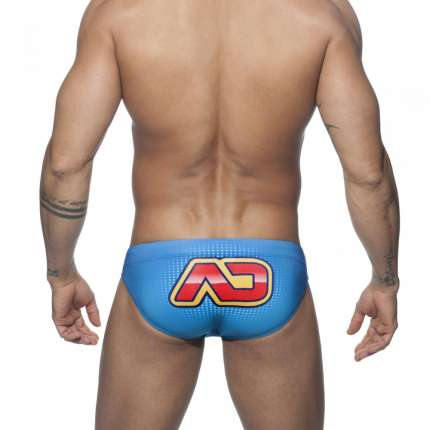 Sunga Addicted Hero Brief Azul,500150