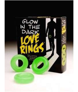 Cockring, Jelly, Glow in The Dark 130025