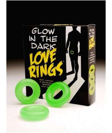 Cockring Jelly Glow in The Dark,130025