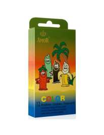12 x Preservativos Color,322015