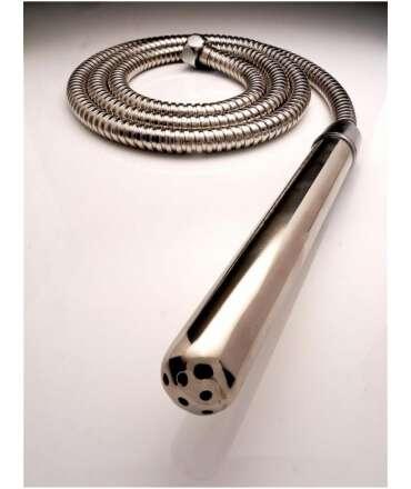 Bocal de Chuveiro Stainless Steel Douche + Tubo,SSDH