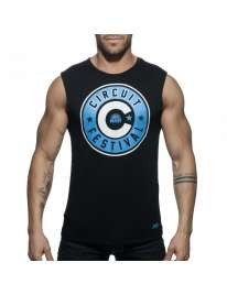 Manga Cava Addicted Circuit Boy 2018 Tank Top Preto, Manga Cava e T-Shirts, Addicted , welcomelover, sex shop, sexshop,Addicted