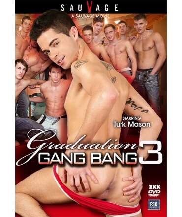DVD Graduation Gang Bang Nr. 03,