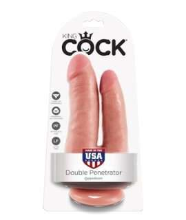 Dildo King Cock Double Penetrator,135879