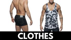 sex shop men clothing